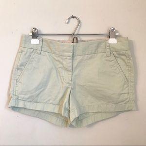 J Crew Chino Shorts Size 4
